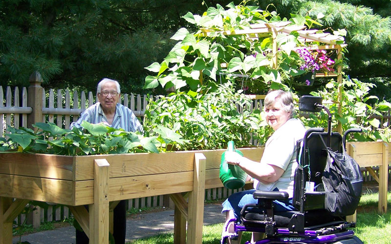 April showers bring 'Accessible' flowers