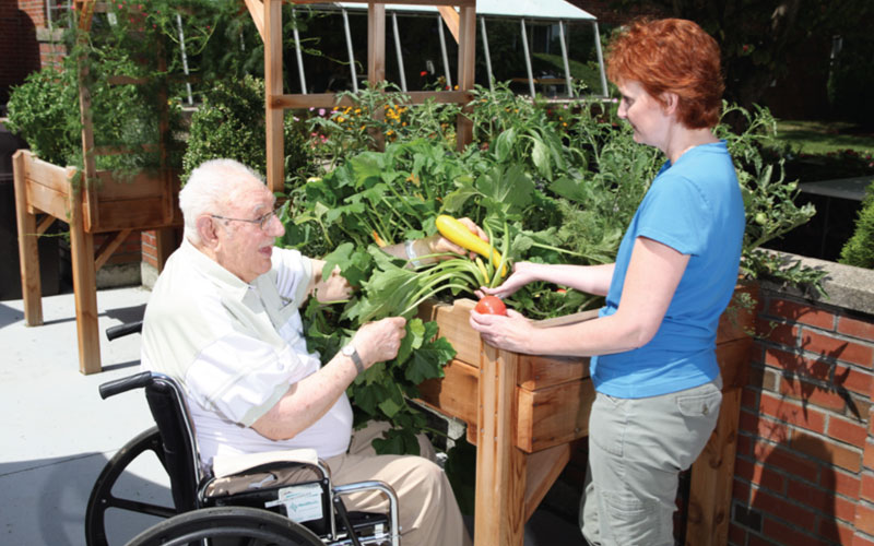 Accessible Gardens Sprout Pastime Pleasures; Dig into gardening to reap bounteous benefits